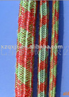 Resin granulated substance ventilation rope