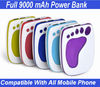 Durable 9000 mAh Portable Power Bank For Smart Phone,Power Power Bank 9000 mAh For Android Tablet