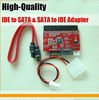 New 2 in 1 IDE to SATA & SATA to IDE Card Adapter Converter