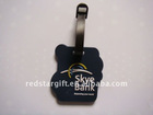 new customized soft PVC baggage tag