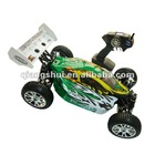 rc HSP Racing 1/10th Scale Nitro Powered 4WD Off-Road Buggy