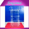 Clear acrylic platform /perspex lectern/lucite rostrum / acrylic podium