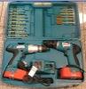 18V Twin Cordless drill set