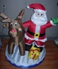 Inflatable santa claus light(christmas light)