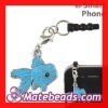 Anti Dust Headphone Jack Plug Fish Charms Wholesale