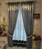 New Fashion Mediterranean Style Small Plaid 240*250cm Curtains
