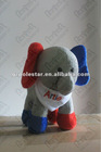 stuffed elephant mascots