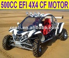 500CC 4x4 buggy with EEC cetification road regal buggy/two seat ATV