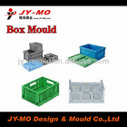 foldable plastic crate stackable storage crate mould