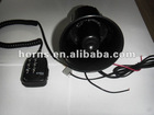 Electric Car Siren alarm Horn Speaker Microphone