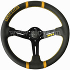 Deep Dish Drifting Steering Wheel (Leather)