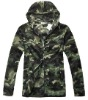 fashion design camouflage coat fleece hoody