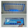 American type led car license plate frame with adhesive tape