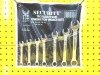 7pcs combination wrenches