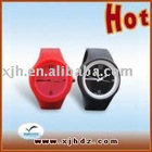 Silicone Rubber Band Jelly Watch