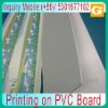 Printing on PVC Board