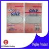 slider zip top garment plastic bags