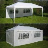 3mx6m PE Wedding Party Tent Marquee/10'x20' White Party Tent Gazebo Canopy with Sidewalls/PE Gazebo
