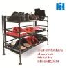 3-shelf foldable shoe rack