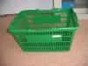supermarket plastic shopping basket