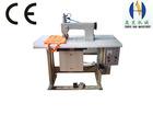 Ultrasonic lace sewing machine semi-automatic non-woven bag machine