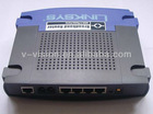 low price Unlocked linksys router RT41P2 4 ethernet port voip gateway