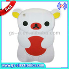 3D Rilakkuma Bear Phone Case For iPad Mini -White