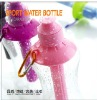 fashion plastic ice bar sport water bottle in outdoor