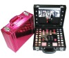 Professional makeup set with case and led lights