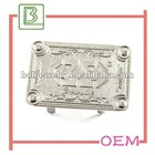 Silver metal tag bag accessories