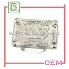 Silver metal tag bag accessories