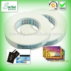 Economical premium hot melt adhesive tape for PVC ABS etc cards bonding