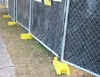 Temporary Galvanized Chain Link Yard Fencing