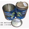 metal round shape music tin box for promotional gifts