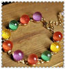 Fashion jewelry colorful frendship bracelet for girls accessory