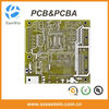 Single side double layer pcb board