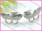 Wholesale Silivee Butterfly Stainless Steel New Model earrings For Girls