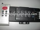 360W rf remote control 8keys RGB led controller