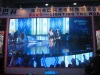 Super thin p4.8 indoor die-casting aluminum hanged LED display screen from Bako