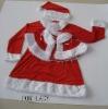 child santa suit,kids christmas suit,Baby christmas dress