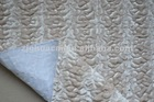 quilted woven fake fur
