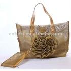 2012 fashion flower big size handbags for ladies