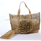 2012 fashion flower big size handbags for ladies