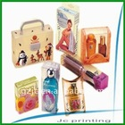 personal care clear pvc plastic box