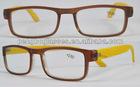 Wooden temples reading glasses meet EN14139