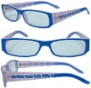 Reading glasses with SPRING