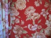 100% polyester flower curtain transfer printed fabric & paper Y-0255