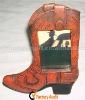 Shoe Shaped Polyresin Decorative Photo PictureFrames