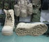 Multicam durable military ankle combat boots