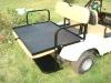 Golf cart flip flop seat kit for E-Z-G0
